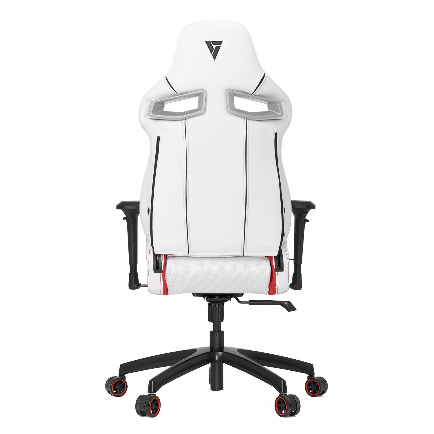 Marvelous Vertagear Sl4000 Gaming Chair White Red Edition Nordic Andrewgaddart Wooden Chair Designs For Living Room Andrewgaddartcom